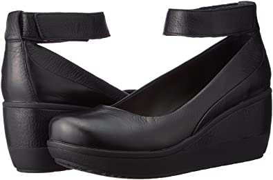 0efbd5862 Clarks Wynnmere Fox Leather Shoes In Black Standard Fit Size 3 ...