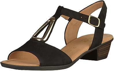 Gabor Sandaletten in Übergrößen Schwarz 62.473.47 große Damenschuhe ... 21b7c5a734