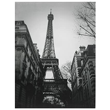 Oriental Furniture Eiffel Tower Sun Glow Canvas Wall Art