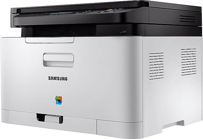 Samsung Xpress SL-C480W Laser 18 - Impresora multifunción (Laser ...