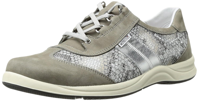 Mephisto Women's Laser Walking Shoe B01IDT7Y4O 11 B(M) US|Light Grey Bucksoft/Sand Boa/Nickel Pearl Calfskin