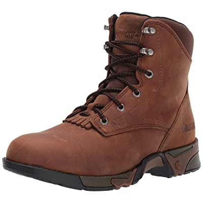 Rocky Women's Lace-Up Aztec Work Boot | Shoes
