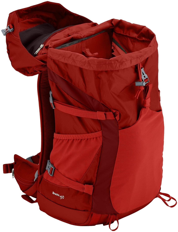 VAUDE Brenta - Mochila de acampada (40 L) rojo rojo Talla:64 cm: Amazon.es: Deportes y aire libre