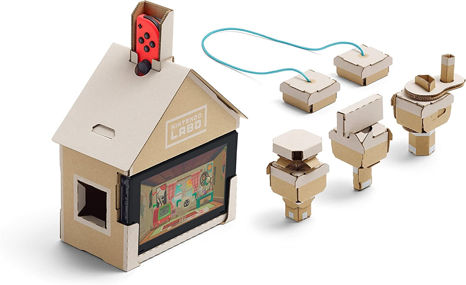 Switch Nintendo Labo: Toy-Con Kit variado + Colgante: Amazon.es ...
