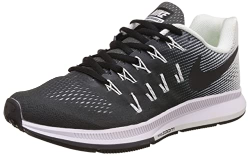 dc6884ac3279b Nike Men s Air Zoom Pegasus 33 Black Running Shoes - 9 UK India (44 EU)(10  US)(831352-002)  Buy Online at Low Prices in India - Amazon.in
