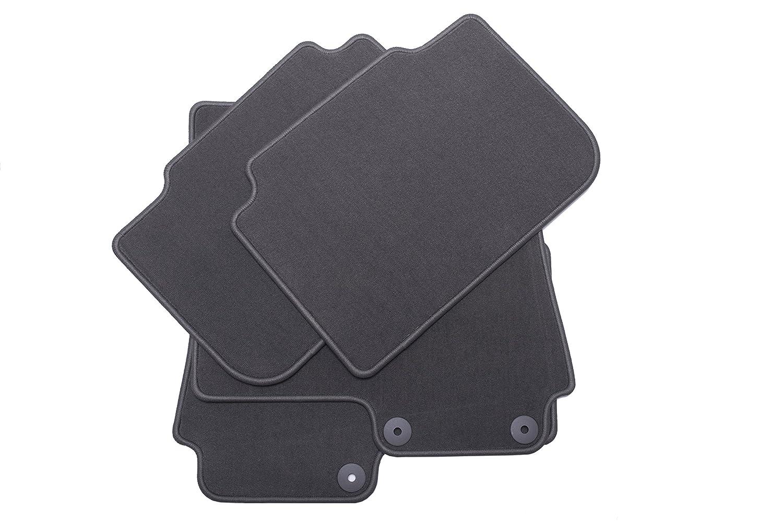 GM Accessories 20808301 Front and Rear Carpeted Floor Mats in Dark Titanium General Motors
