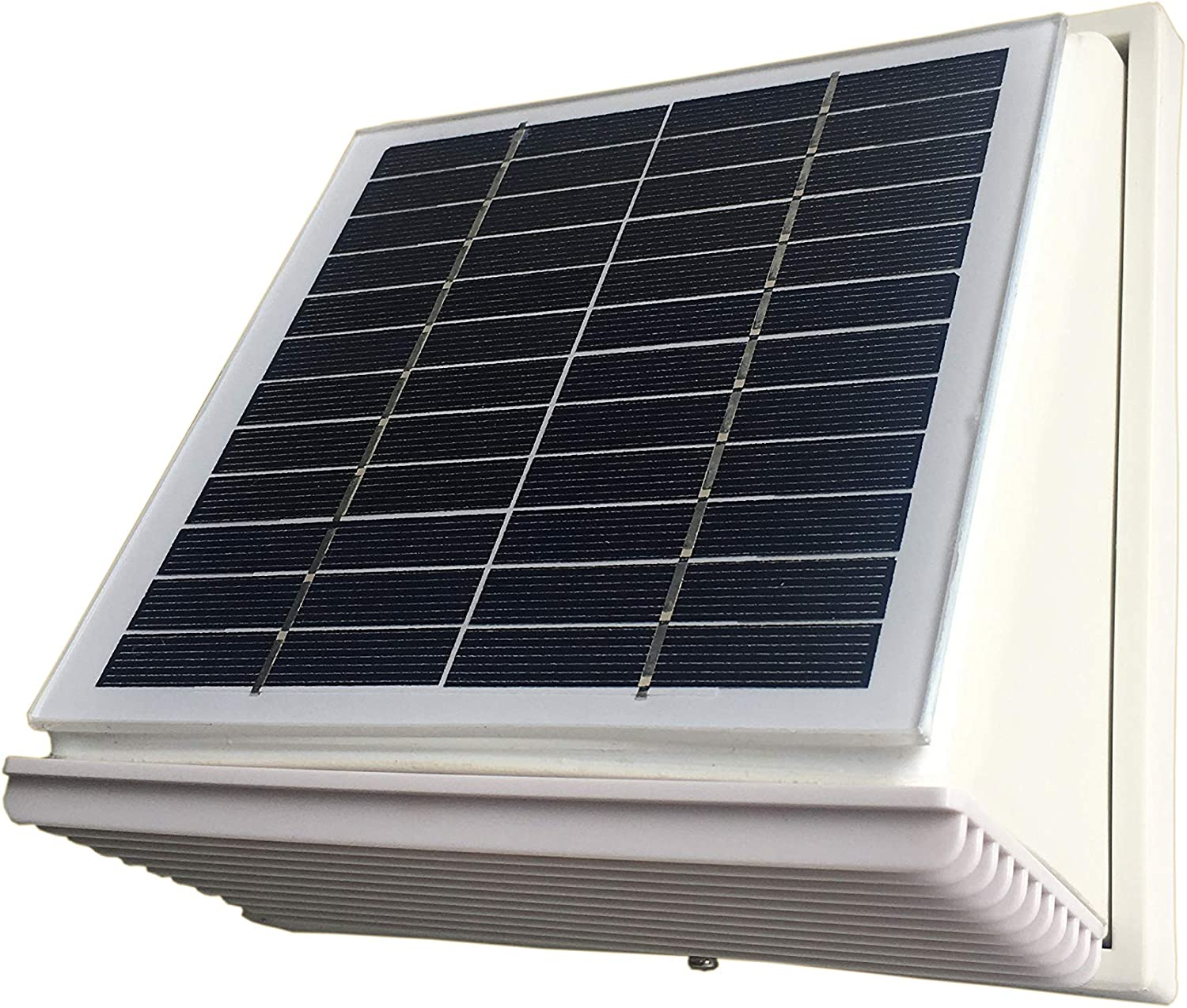 Plastic Solar Wall Fan Exhaust Vent Airduct Φ120mm Extractor Ventilator for shed kitchens bathrooms outdoor storage
