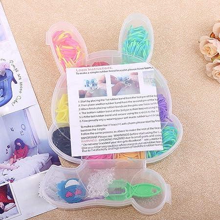 Kit de manualidades para niños con banda de telar en caja de ...