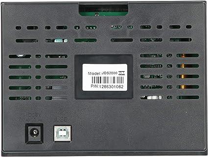 Jeanoko ABS Electrical Equipment JDS2800-60MHz LCD Generador de señal de alta definición DDS para Electrical(regulación británica)