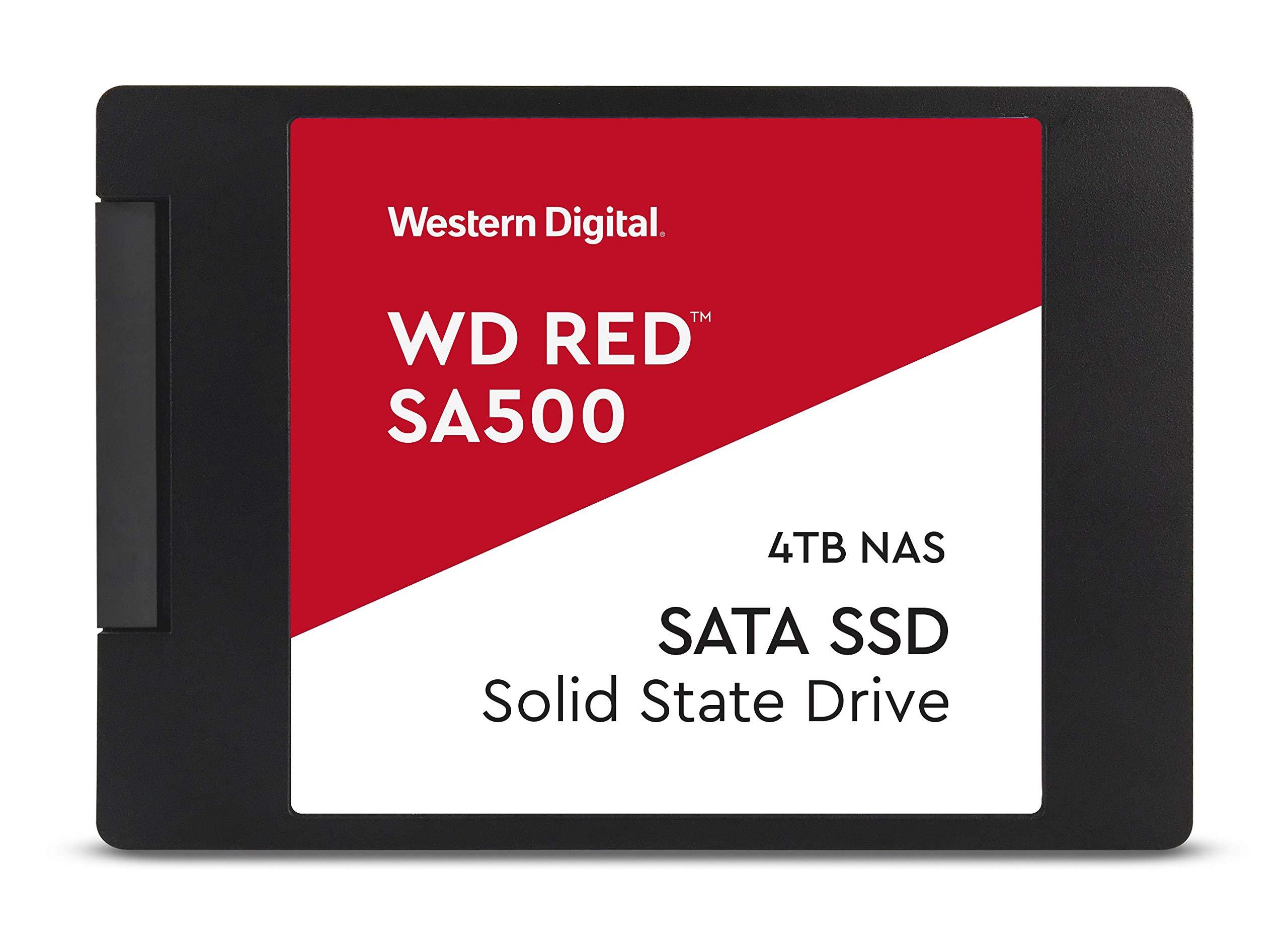 SSD 4TB SATA WD Red SA500 NAS 4TB 3D NAND 6 GB/S 2.5/7mm Up