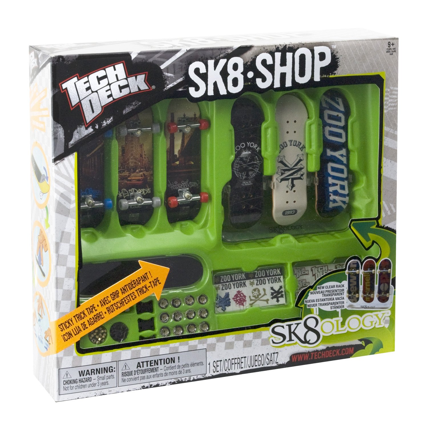 Tech Deck - SK8 Skate Shop Bonus Pack (Styles Vary) (Discontinued by manufacturer) by Spin Master