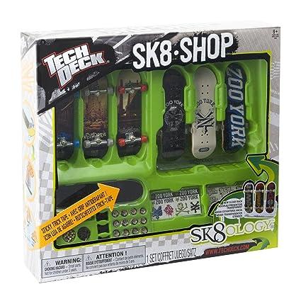 Amazon com: Tech Deck - SK8 Skate Shop Bonus Pack (Styles