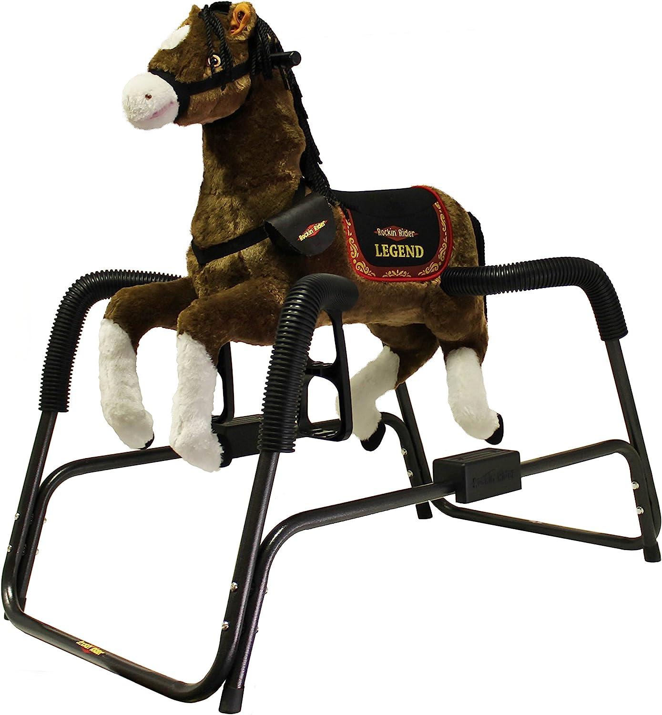 B000OWDVYG Rockin' Rider Legend Animated Plush Spring Horse 81ItHlRFIJL.SL1500_