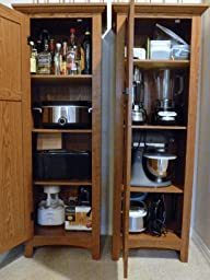 Sauder Pantry Cabinet With Amazon.com: Sauder Summer Home Pantry, Carolina  Oak Finish