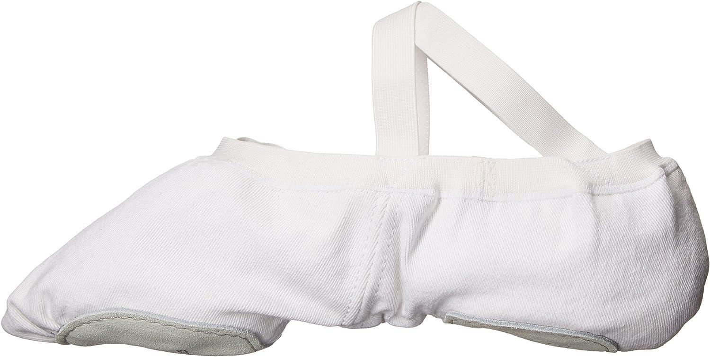 6.5 C US White Bloch Mens Dance Synchrony Split Sole Stretch Canvas Ballet Slipper//Shoe