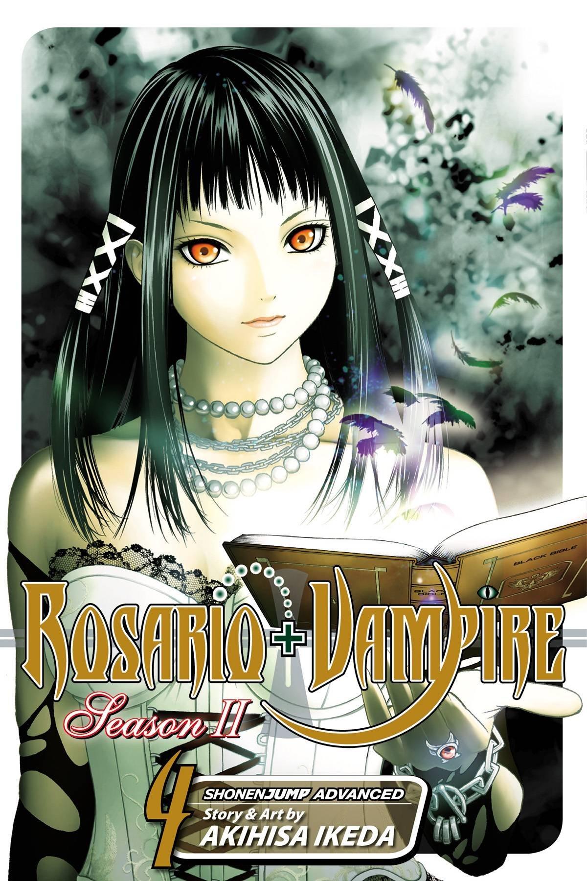 rosario vampire season ii vol 4 akihisa ikeda 9781421535449