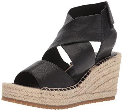 74599b1b0990 Eileen Fisher Women s Willow-tl Dress Sandal Black 5.5 ...
