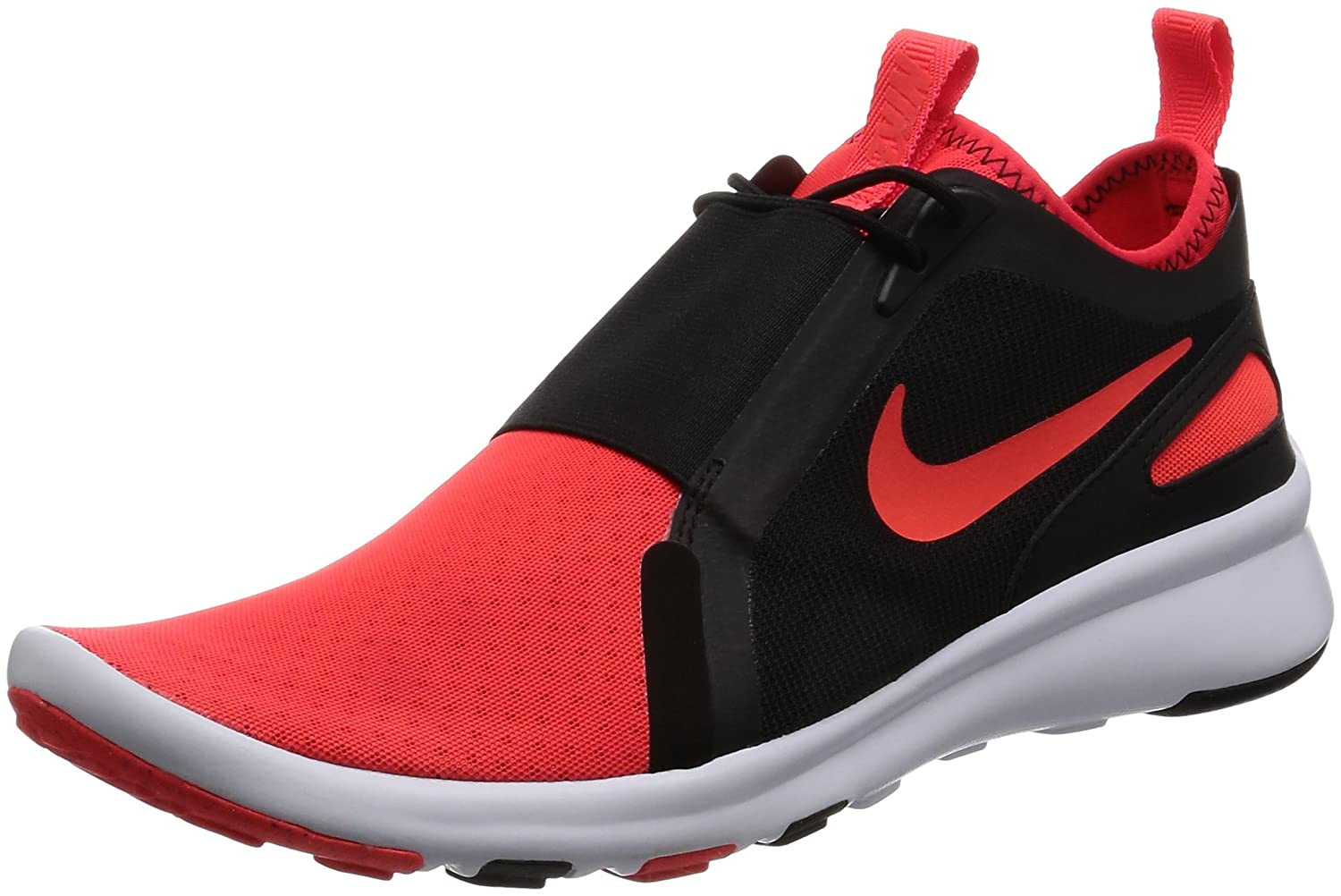 Nike Herren Current Slip on Trainer  44 EU|Rot (Bright Crimson/Bright Crimson/White)