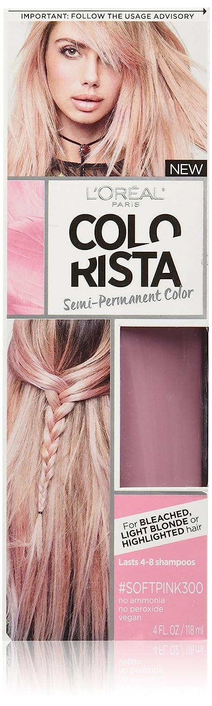 Amazon.com : L\'Oréal Paris Colorista Semi-Permanent Hair Color for ...