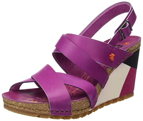 Art 0279 Memphis Rio, Sandali Punta Aperta Donna, Marrone (Brown), 42 EU