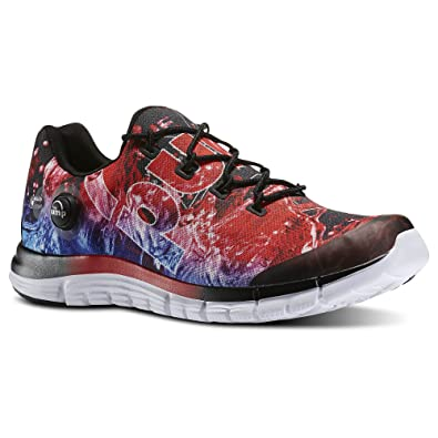 a637a976530 Image Unavailable. Image not available for. Color  Reebok Mens Zpump Fusion  Geo Running Shoes ...