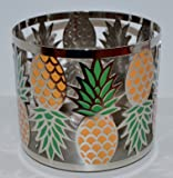 Bath and Body Works Pineapple 3 Wick Candle Sleeve Holder