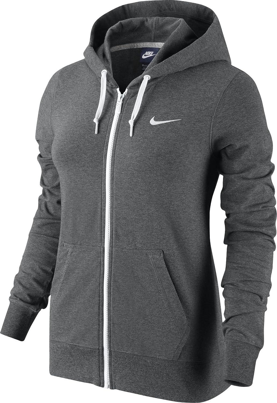 Nike Veste Jersey à Capuche et Fermeture Éclair intégrale pour Femme