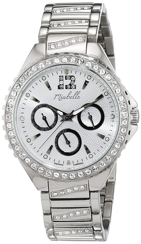 Miabelle Damen-Armbanduhr Analog Quarz Leder 16-010W-C