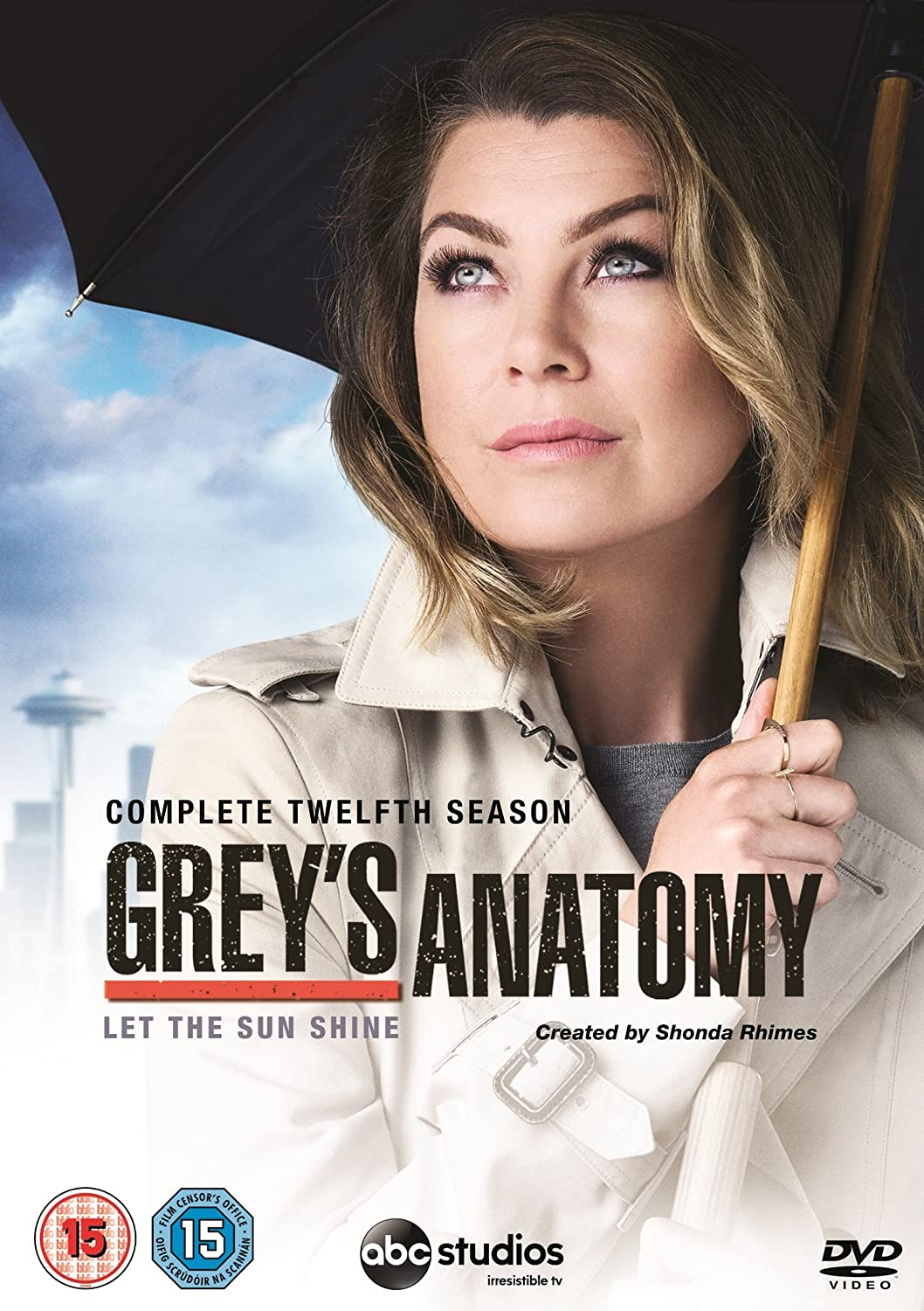 Greys Anatomy Season 12 Uk Import Amazon Dvd Blu Ray