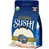 Lundberg Family Farms - Organic California Sushi Rice, Japanese Style Short Grain Rice, Perfectly Sticky, Pantry Staple, Non-
