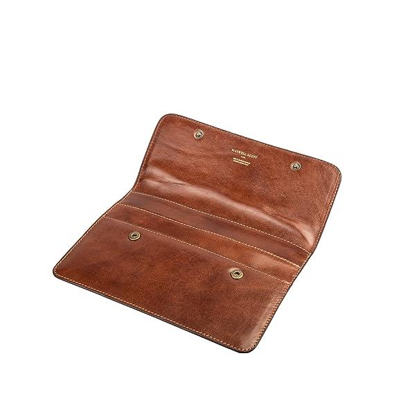 627dad45de46 Maxwell-Scott® Luxury Premium Handmade Italian Full Grain Leather Slim  Travel Document Wallet (The Torrino)