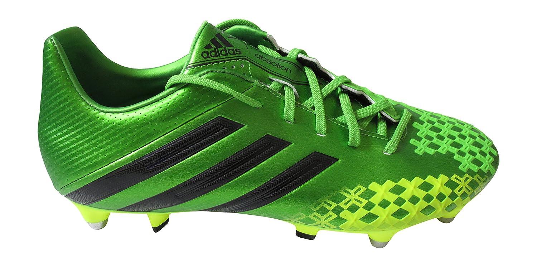 Adidas Herren Fußball Stiefel VERT JAUNE NOIR - herren, Multi, uk 6 us 6.5 eu 39 1 3