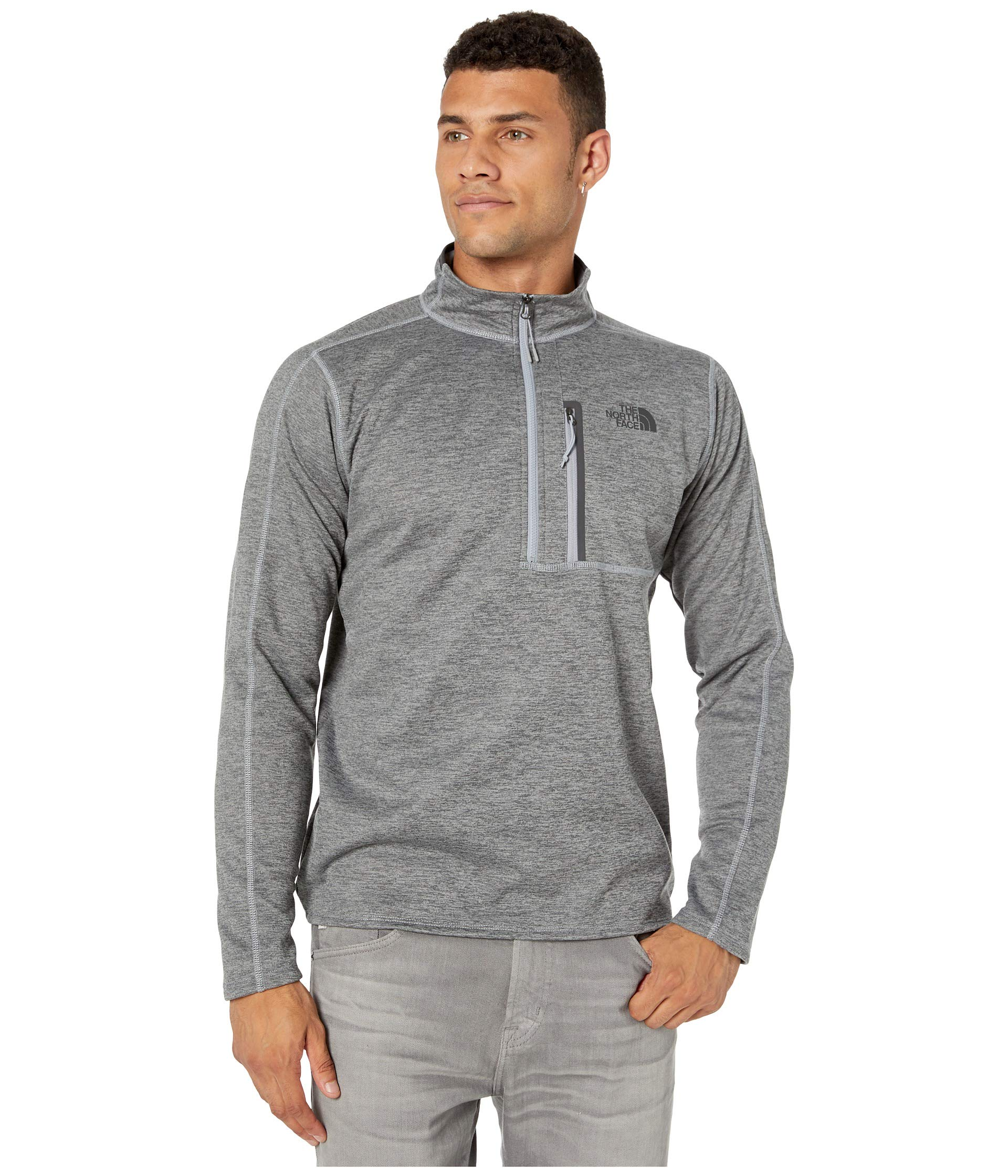 The North Face Men's Canyonlands ½ Zip, TNF Medium Grey Heather, Size XL by The North Face