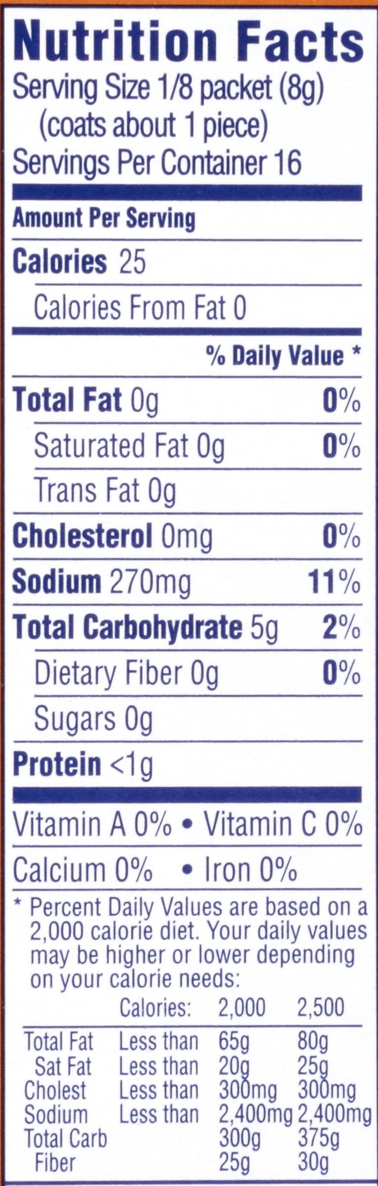 Kraft Shake N Bake Seasoned Coating Mix Box, Crunchy Pretzel, 4.6 Ounce