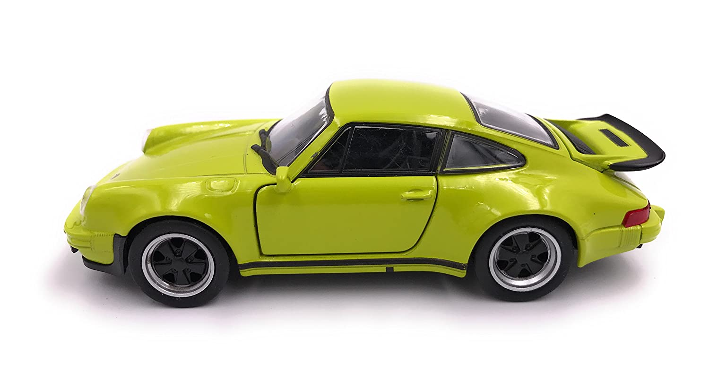 Welly Porsche 911 Turbo 930 1975 Modellauto Auto Lizenzprodukt 1:34-1:39 gr/ün