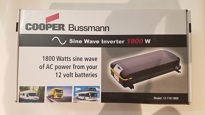Cooper Bussmann 12-110-1800 True Sine Inverter