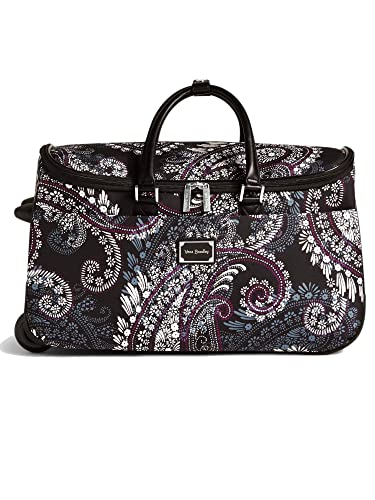 dfefc0503e Vera Bradley 22 quot  Rolling Duffel Carry-On Travel Bag (Paisley ...