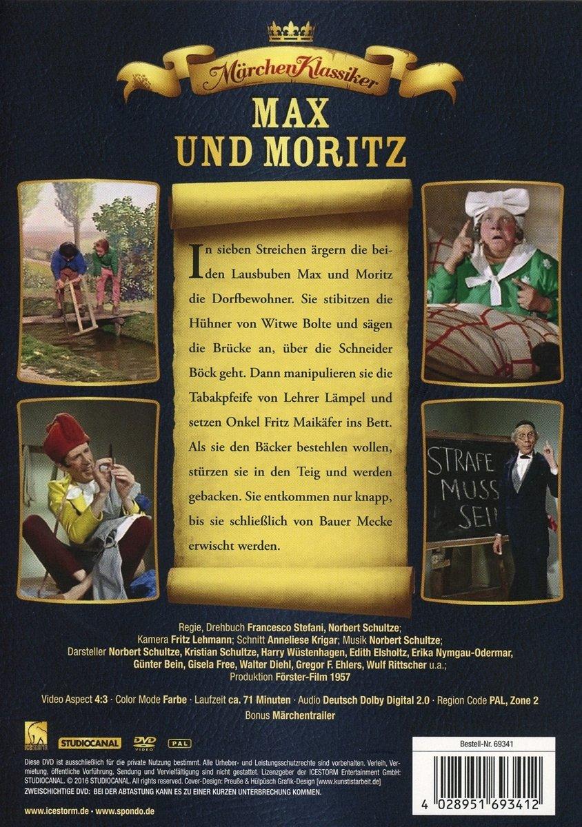 Max und Moritz: Amazon.de: Harry Wüstenhagen, Edith Elsholtz, Erika ...