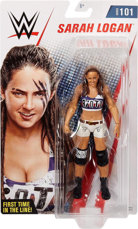 Mattel WWE Basic Series 79 Nia Jax Carte non Comme neuf