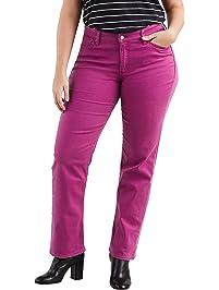 2fceb20d7b7 Levi s Women s Plus-Size 414 Classic Straight Jean