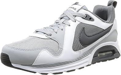 Nike Air MAX Trax, Zapatillas de Running para Hombre, Gris/Negro/Blanco (Cl Grey/Anthrct-White-WLF Gry-), 44 1/2 EU: Amazon.es: Zapatos y complementos