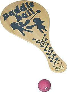 Rhode Island Novelty Paddle Ball Set | 12 Pack |