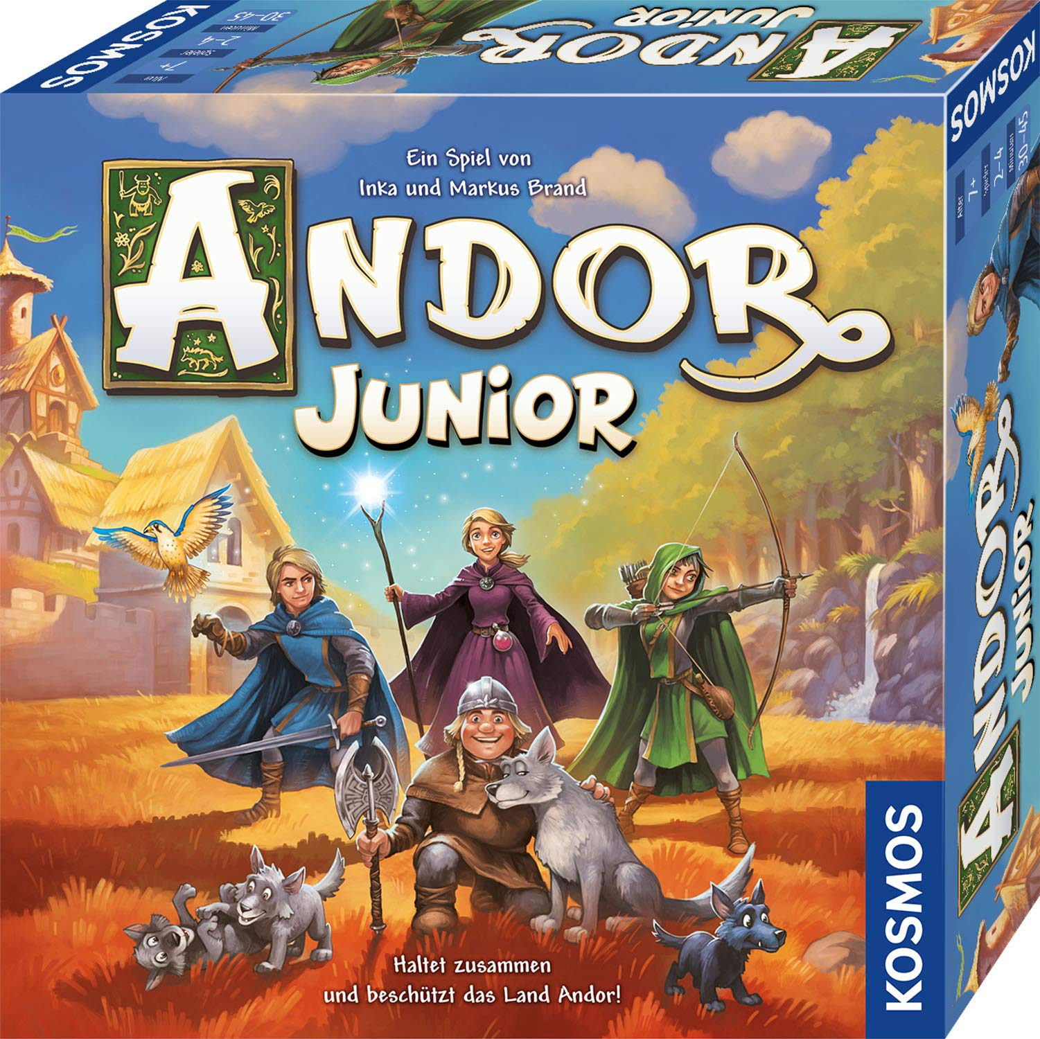 Andor Junior: Kinderspiel: Amazon.es: Libros en idiomas extranjeros