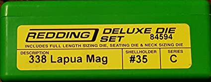 Redding Reloading 338 Lapua Mag Deluxe Set #84594