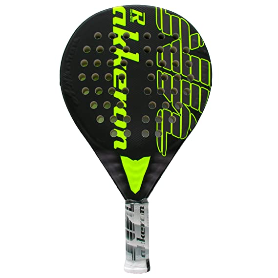 Pala de pádel Akkeron Atlas Ultimate R X6 Yellow Flúor: Amazon.es ...