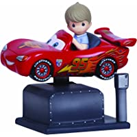 Precious Moments Disney McQueen Kiddie Ride w/Resin Music Box