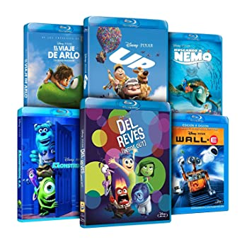 Pack Pixar Imprescindibles El Viaje de Arlo + Inside Out Del Revés ...