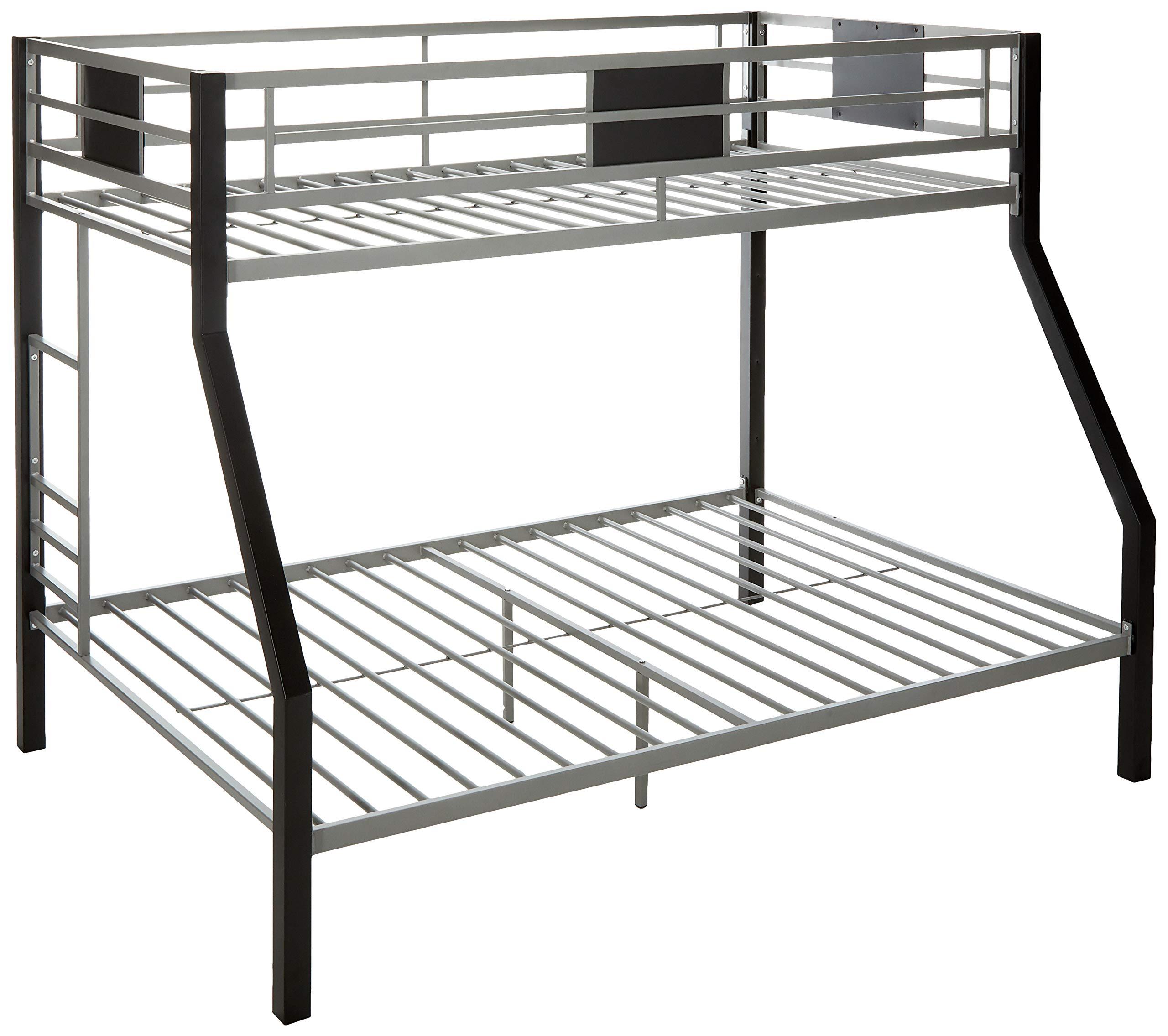 Ashley Furniture Signature Design - Dinsmore Bunk Bed -Twin/Full -  Component Piece - Contemporary - Black/Gray