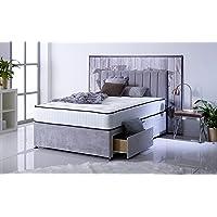 comfort night sleep ltd bravo divan double bed with memory foam mattress