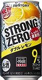 サントリー チューハイ -196℃ ストロングゼロ ダブルレモン 350ml